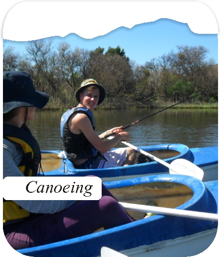 Canoeing Breede River Worcester